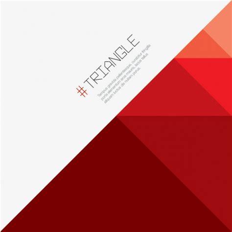 imagenes vectores de triangulos tri 225 ngulo fondo rojo descargar vectores gratis