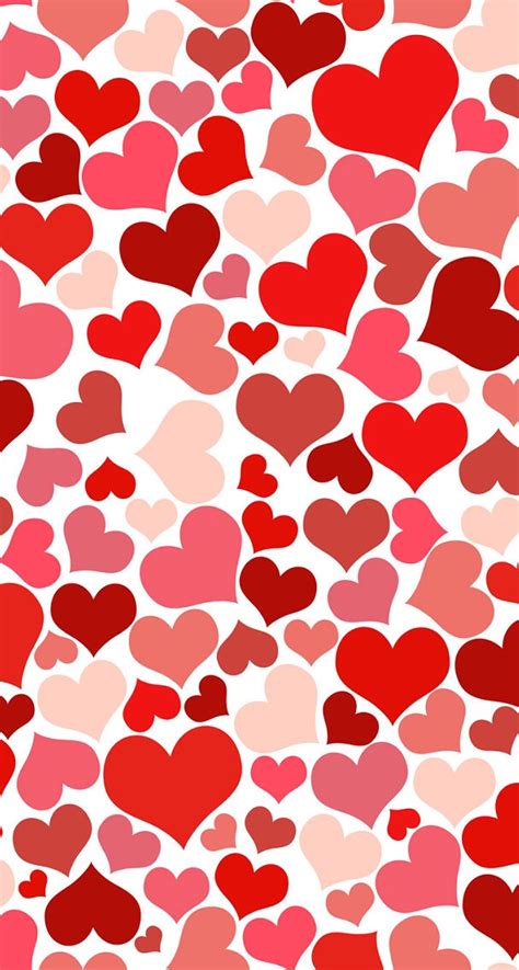 pattern background hearts lover heart pattern wallpaper free iphone wallpapers