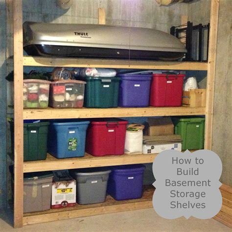how to build basement storage shelves the ready s home