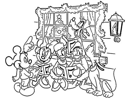 Disney Christmas Coloring Pages Printable Coloring Home Disney Merry Coloring Pages