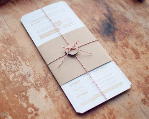 Handmade Wedding Invitations Diy - christine ian s diy lasercut woodland wedding invitations