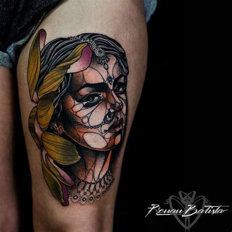 batista tattoos and bold les impressionnants tatouages de renan