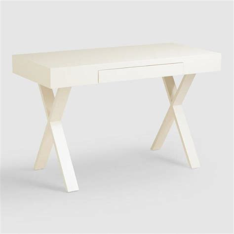 Off White Josephine Desk World Market White Josephine Desk