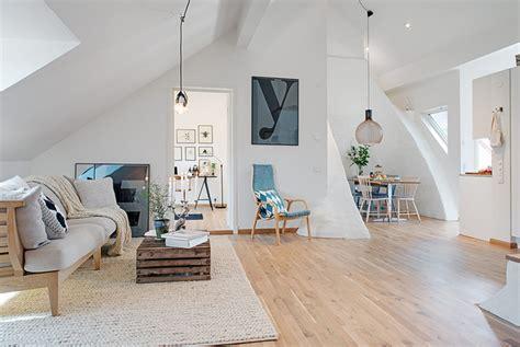 scandinavian livingroom cozy apartment decorated in pure modern scandinavian style