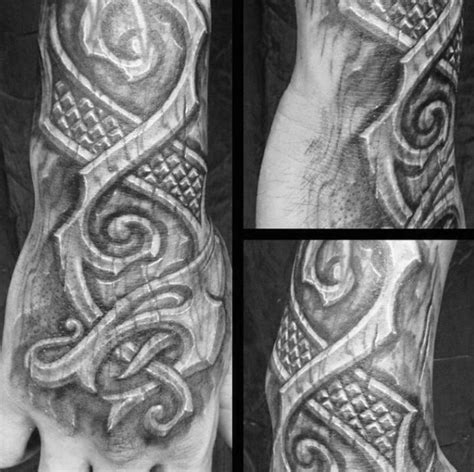 wood carving tattoo 50 wood carving designs for masculine ink ideas