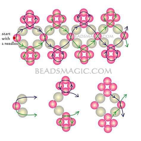 free beaded bracelet patterns 1000 images about beadsmagic bracelets on