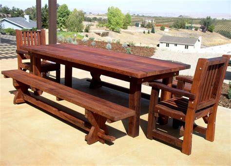 Patio Table Wood Wood Patio Table Ideas Designer Tables Reference
