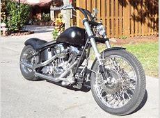 95 Harley Davidson Custom Softail Bobber Motorcycle Rebuilt Harley Davidson Wide Glide Specifications