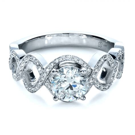 custom filigree engagement ring 1250 bellevue