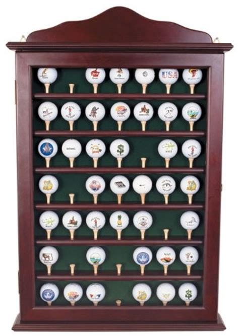 golf ball display cabinets australia proactive 49 ball rosewood cabinet at http suliaszone