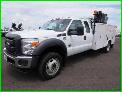 Ford F 550 Service Body (2016) : Utility / Service Trucks