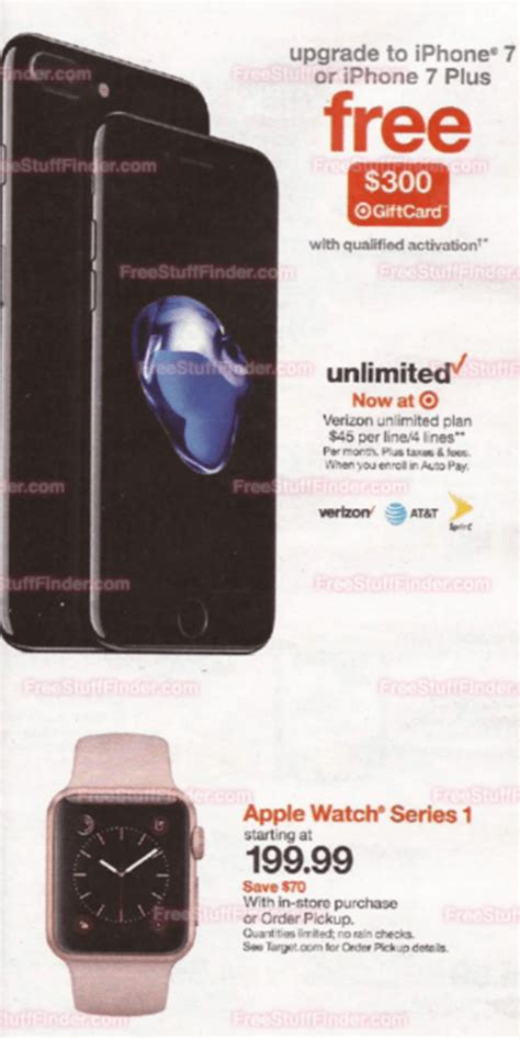 target offers  gift card  iphone  purchases
