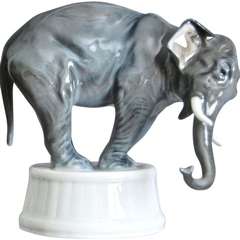 elephant figurines rosenthal porcelain elephant figurine 1929 from