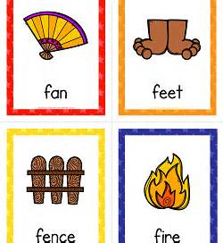 Things that Start with A to Z Cards   A Wellspring of Worksheets