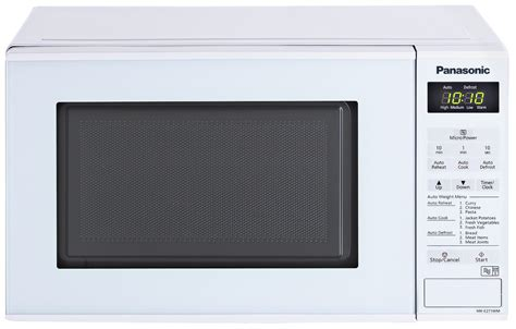 Microwave Panasonic Nn Cf770mtte panasonic nn e271wmbpq 800w standard microwave white