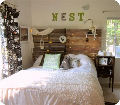 diy headboard going home to roost