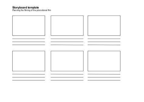 Printable Storyboard
