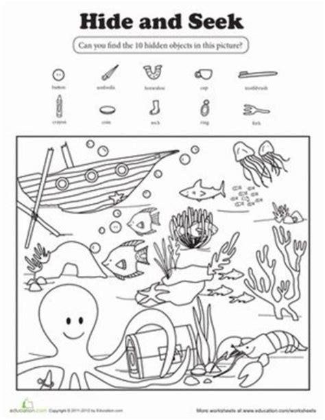 hide and seek worksheet hide and seek worksheet preschool items juxtapost
