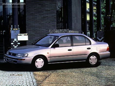 Toyota 2 1992 Model Toyota Corolla Sedan Specs 1992 1993 1994 1995 1996