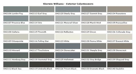 grey tones for exterior paint