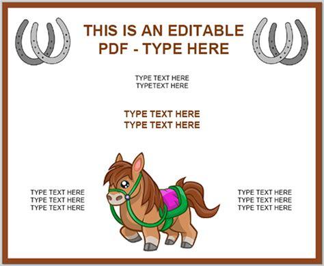 Horseback Riding Lesson Gift Certificate Template Cenbum Info Horseback Lesson Gift Certificate Template