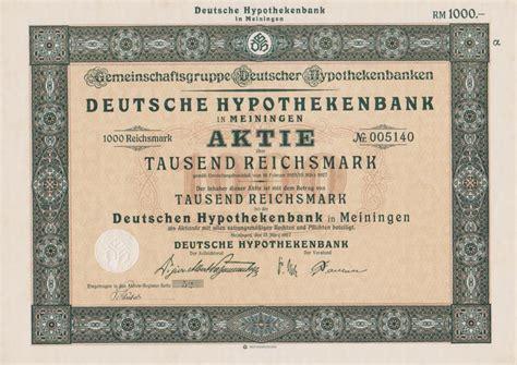 erste bank aktie thema banken sparkassen deutsche wertpapiere vor 1945