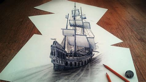 3d Sketches On Paper by 3d Pencil Drawings By Ramon Bruin Cool Material
