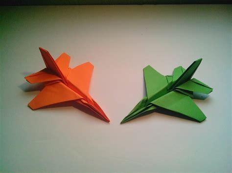 F16 Origami - como hacer un avi 243 n de papel f 16 jet fighter