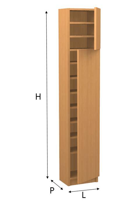 mobile su misura on line scarpiera a colonna su misura