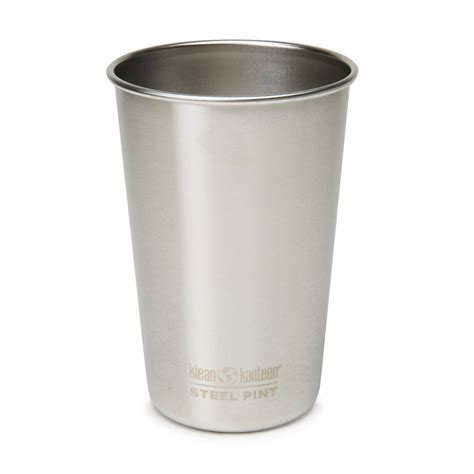 stainless steel pint klean kanteen stainless steel pint cups the green