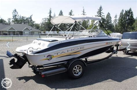 Tahoe Deck Boat For Sale Craigslist by Tahoe New And Used Boats For Sale In Washington