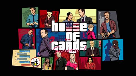 House Of Cards Also Search For House Of Cards Gta Mashup Vector Wallpaper By Akyanyme On Deviantart