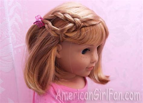 cute hairstyles for our generation dolls 17 best ideas about american girl hairstyles on pinterest