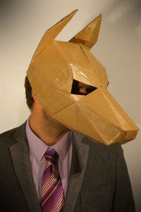 How To Make Paper Costumes - stuck for a fancy dress costume make your own mask