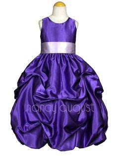 colors to match purple dress preloved bridal dresses 1000 images about purple girls dresses on pinterest