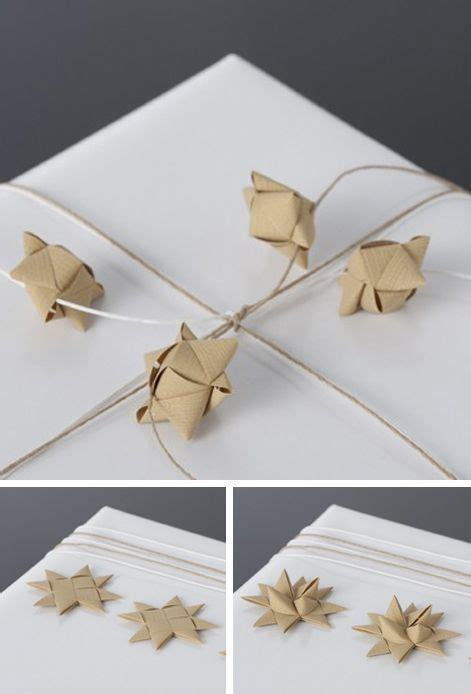 Origami Gift Wrapping - paper by stjernestunder giftwrapping ideas with