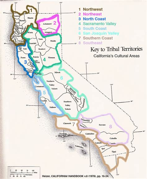 california map of american tribes california americans