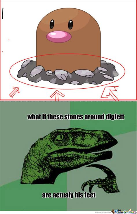 Diglett Meme - diglett by recyclebin meme center