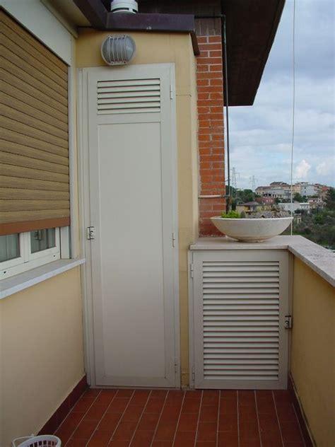 pannelli per armadi armadio da balcone con pannello i bachelite e ventilazione
