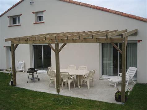 Construire Une Pergola En Bois 1551 by Idee De Pergola En Bois Ides