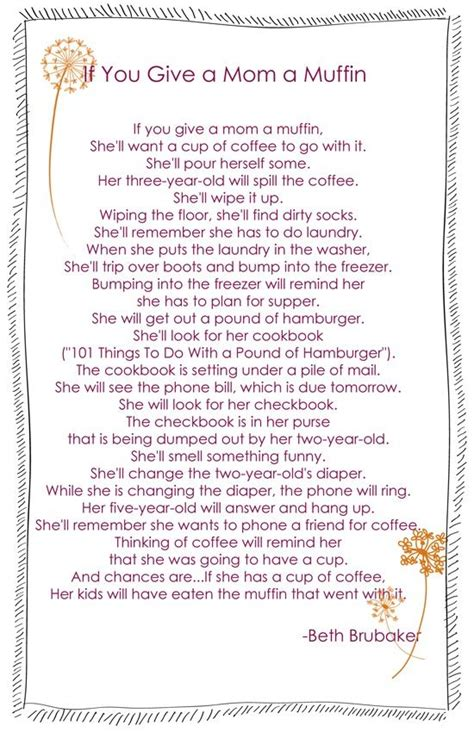 a mothers letter who gave the order to kill my children mothers day poem muffin gift idea free gift and