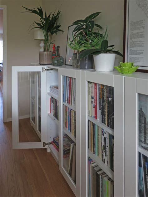 ikea bookshelf hack billy bookcases with grytn 196 s glass doors ikea hackers
