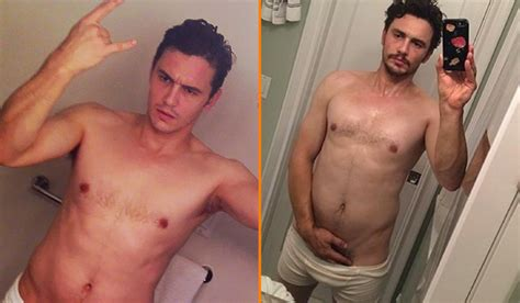 James Franco Answers For Half Nude Selfies It S What The People Want Queerty