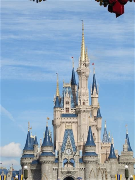 sections of disney world disney world s magic kingdom with cinderella s castle
