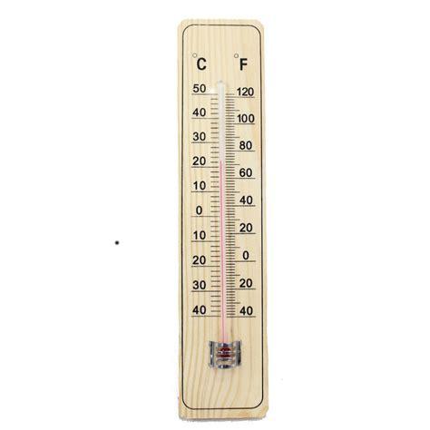 Termometer Celcius jardin en bois de la maison thermom 232 tre 9 quot fahrenheit