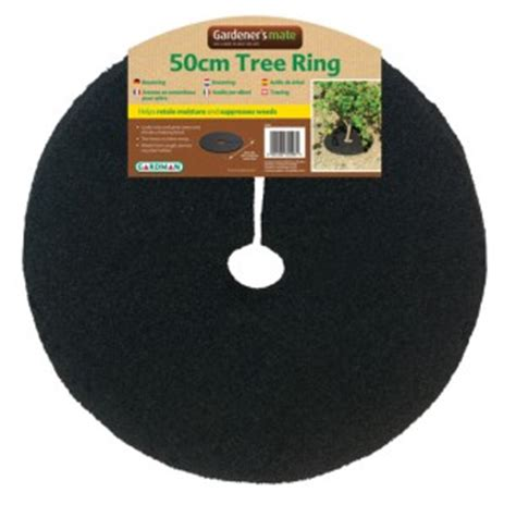 Rubber Tree Mats by Gardman Recycled Rubber Tree Mulch Ring Mat 50cm Ebay