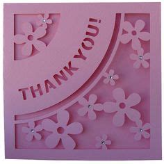 thank you card template cricut free quot thank you quot card svg file cricut svg cards