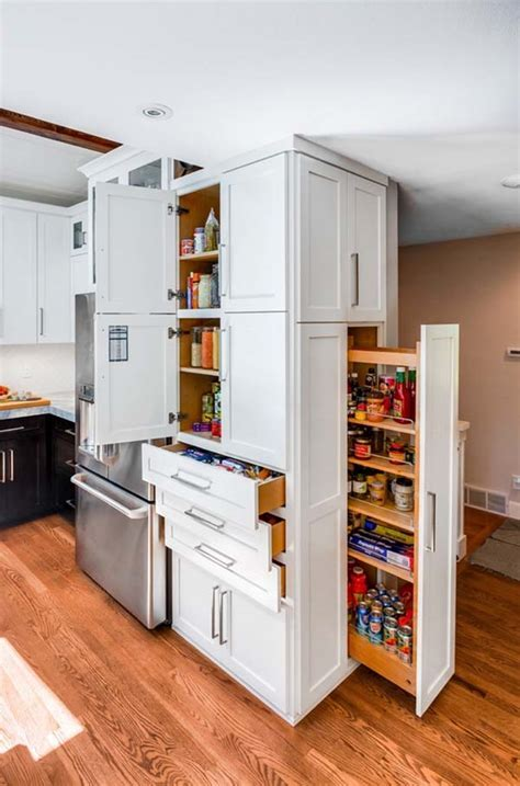 Kitchen saving storage solutions ? useful ideas for pantry