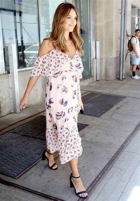 Albas Growing Bump by Alba Shows Baby Bump In Nyc Pics