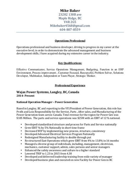 resume format for docx mike baker resume jan 2016 v2 docx